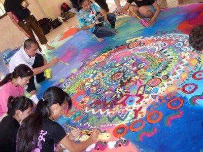 Circle+painting